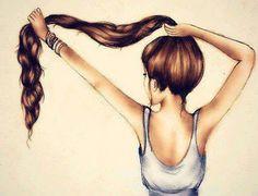 Tener el cabello así de largo:o          Sería muy, muy feliz xd xdd                   Ser uno mismo cada día ignorando lo que dicen