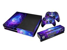 NY Game Skin Sticker For Xbox ONE Console + Free Controllers Vinyl Decal in Video Games & Consoles, Accessories, Faceplates & Stickers Xbox One Games List, Video Games Xbox, Xbox Games, Xbox One Skin, Xbox One Controller, Microsoft, Ps4, Xbox Accessories, Xbox One Black