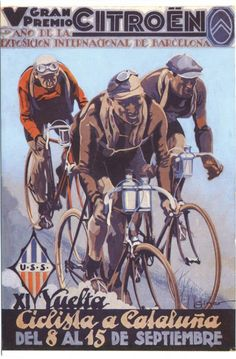 Un petit recull dels cartells que més ens ha agradat de la Volta Ciclista Catalunya.