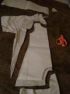 Awesome Idea: Fit to a T baby romper tutorial part 2: Making the Pattern and Cutting « The Seamery
