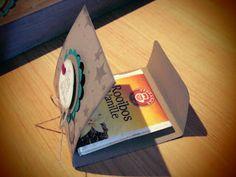 Kreativ am Deich: Teebeutelheft mit Verschlusslöung Gift Bag Punch Board