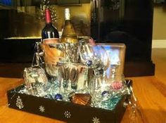Silent Auction Basket Ideas | … donated an elaborate wine gift ...