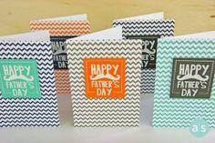 Amuse Studio Happy Father's Day stamp set.