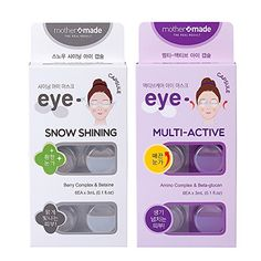 mothermade® Anti-Wrinkle & Dark Circle Removing Eye Mask - Snow Shining & Multi-Active Eye Capsule SET (6 patches x 2 pack, 12 use), Greatly Hydrate and Firm Your Eye Areas, and Remove the DarkCircles mothermade http://www.amazon.com/dp/B017SYVJG4/ref=cm_sw_r_pi_dp_IHe6wb03028WB