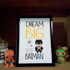 Batman Inspired printable posters set for an awesome bedroom decoration