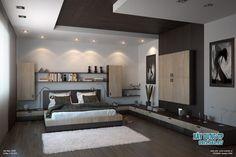 Mẫu trần thạch cao phòng ngủ 14