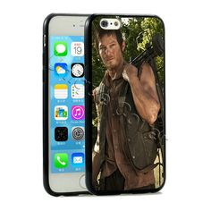 The Walking Dead Case For iphone 6 4.7 in. Hybrid TPUPC Michonne Rick Grimes Phone Cover Daryl Dixon Case for Iphone 6 plus 5.5 in.