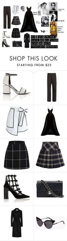 """""""orfoie"""" by aentigscru on Polyvore featuring Alexander Wang, Balenciaga, Chicwish, GE, GUESS, Alex Perry, Fabrizio Viti, Chanel, Dsquared2 and Louis Vuitton"""