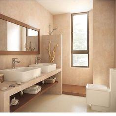 [New] The 10 Best Home Decor (with Pictures) – Comenzamos este con un Modern White Bathroom, Minimal Bathroom, Master Bathroom, Beautiful Bathrooms, Bathroom Furniture, Bathroom Interior, Interior Design Living Room, Window In Shower, Concrete Bathroom