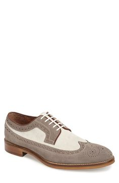 Johnston & Murphy 'Conrad' Longwing Spectator Shoe (Men) available at #Nordstrom