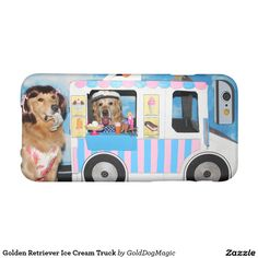 Golden Retriever Ice Cream Truck Barely There iPhone 6 Case