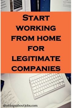 This is a list of awesome companies offering work from home jobs online. Get paid with these online jobs for moms or just about anyone else looking for online jobs from home.