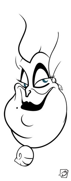 Ursula. A Disney villain you wouldn't mind spending a night in a pub with