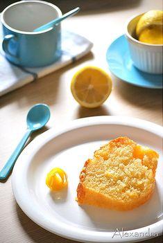 DSC_0029 Cake Recipes, French Toast, Lemon, Fruit, Breakfast, Desserts, Food, Cakes, Greek Sweets