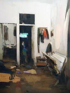 "Saatchi Art Artist Carlos San Millan; Painting, ""Interior #138"" #art"