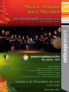 Concierto Música Antigua para Navidad / Sala Cabrujas / Caracas / la Sarabanda