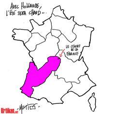 Réforme territoriale : vers une fusion Limousin-Aquitaine ? - Dessin du jour - Urtikan.net