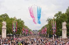 La Royal Air Force célèbre les 90 ans de la reine Elizabeth II