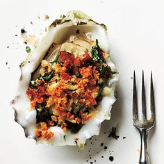 Roasted Oysters with Pancetta and Breadcrumbs | CookingLight.com