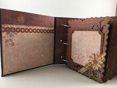 mini scrapbook album using Santoro London Paper Collection Santoro London, Mini Albums, Crafting, Things To Come, Scrapbook, Paper, Cards, Collection, Crafts To Make