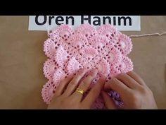 Tomurcuklu Hem Lif Hem Battaniye Modeli - YouTube