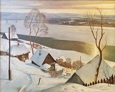 Крыжевский Ян Юлианович (Россия, 1948) «Зима»