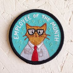 Employee Of The Month Patch