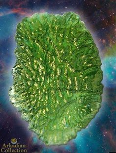 A Grade Moldavite from Vrabce, Czech Republic, 30 carat Amazing Quailty Natural Gem | Arkadian Collection
