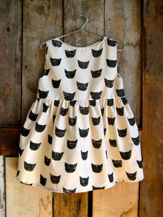 // black cat dress by leahgoren on etsy