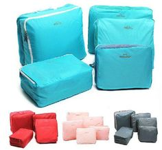 Combo 5 in 1 Sets Travel Bags in Bag Organizer Set of 5 Bags (Random f9e4d4d7f89db