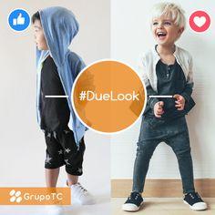 Las prendas de los chicos son para jugar, correr, sonreír pero sobre todo disfrutar ¡Elegí el look que más te gusta!  #DueLook