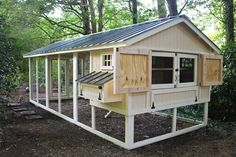 Backyard Chicken Product: Wooden Chicken Coops - American Coop w/12' Run (14 chickens) - from My Pet Chicken