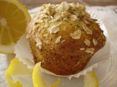 Lemon Oatmeal Poppy Seed Muffins Recipe - Genius Kitchen