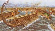 The Battle of Salamis – September 480 BCE. Often overshadowed by the heroic last-stand undertaken by the alliance of Greek city-states at Thermopylae, the naval battle at the straits of Salamis was actually much more important to the outcome of the Greco-Persian Wars.