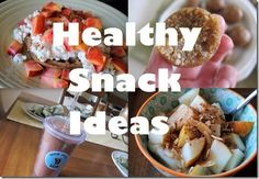 healthy snack ideas fitness