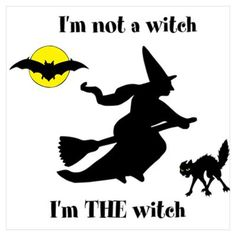 I'm THE witch