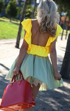 mellow yellow for those summer days