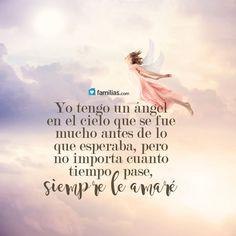 Mí Ángel, por siempre te amaré.