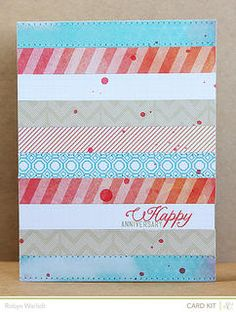 Anniversary *Studio Calico March Card Kit Only* by Robyn Werlich at Studio Calico