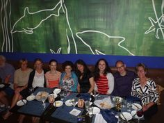Thank you, Chanda, for this photo of our boss and other language professionals at ALC Conference dinner outing in Boston