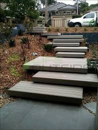 Image result for wooden porch steps unconventional