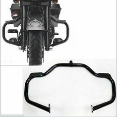 Advertisement Ebay Black Motorcycle Engine Guard Crash Bar Frame For Harley Touring Models 09 20 Harley Davidson Street Glide Road King Street Glide For Sale