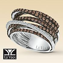 Chocolate Diamond ring Jewelry Rings, Jewelry Accessories, Jewelry Watches, Le Vian, White Gold Jewelry, Gold Gold, Wedding Rings, Band, Engagement Rings