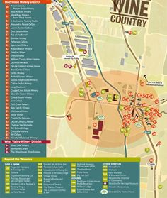 New Map of Woodinville #Wine Country Member Wineries April 2014 #WineTour