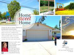536 F Street, Ramona CA 92065 $299,000