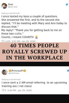 Here are 40 times people royally screwed up in the workplace: