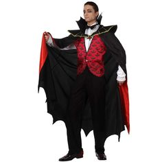 Disfraz de vampiro rojo #disfraces #halloween