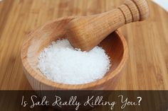 Most people think that salt is really bad for you. They might have heard that salt increases your blood pressure and therefore your risk of heart disease.  Well, it does increase your blood pressure - ... http://latesthealthreviews.com/is-salt-killing-you/