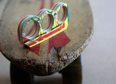 recycled skateboard maple knuckles