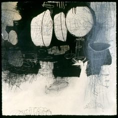"ikebushman: "" After the Ending IV Lithography, Dry Point, Silk Screen 39""x39"" 2009 """